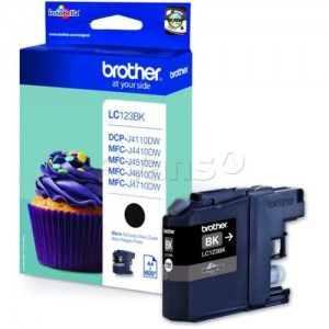 Brother Tusz LC123 Black